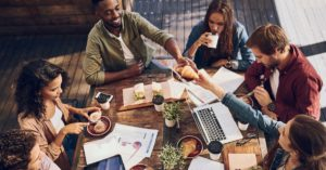 Using the feel-good factor to counter stress at work
